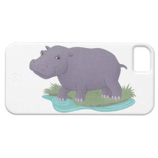 Happy Hippo iPhone 5 Cover