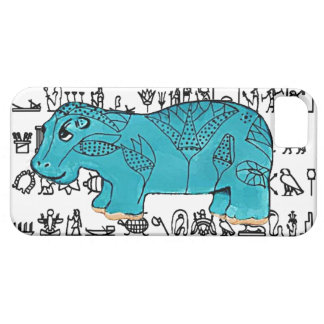 Happy Hippo iPhone 5 Case
