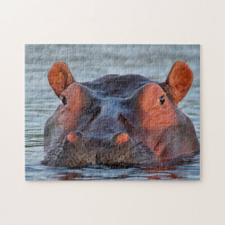 Happy Hippo Jigsaw Puzzle