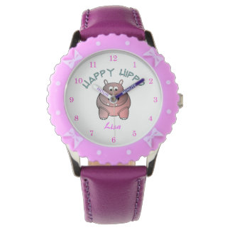 Happy Hippo Kid's Watch