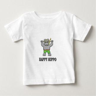 happy hippo water baby T-Shirt