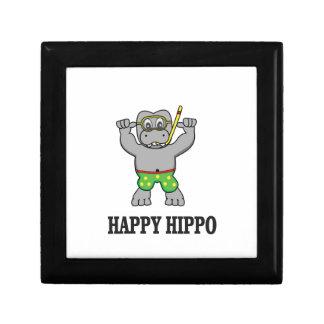 happy hippo water gift box