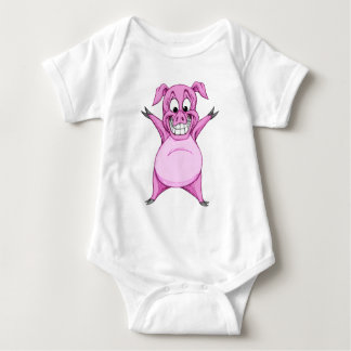 Happy Hog Baby Bodysuit