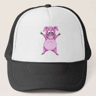 Happy Hog Trucker Hat