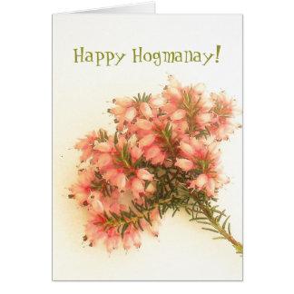 Happy Hogmanay! Card