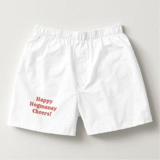 Happy Hogmanay Cheers! Boxers