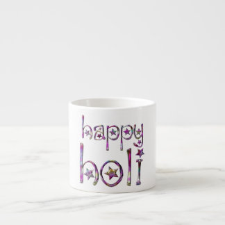 Happy Holi Hindu Spring Festival of Colors Espresso Cup