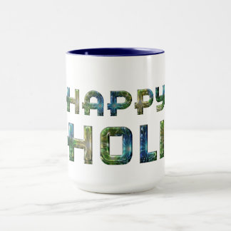 Happy Holi Hindu Spring Festival of Colors Mug