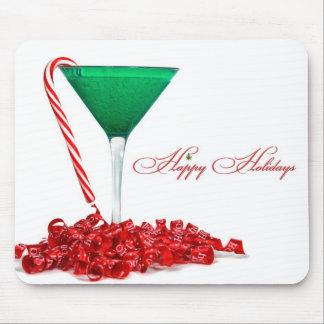 Happy Holiday  Hour Mouse Pad