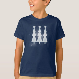 Happy Holiday Ice Christmas Trees T Shirts