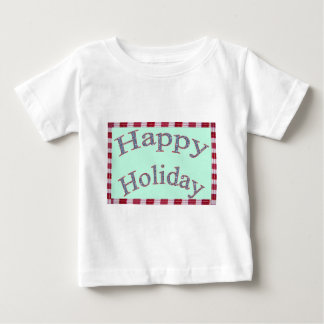 Happy Holiday Images Fash Baby T-Shirt