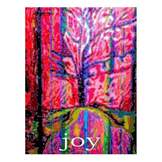 Happy Holiday Joy Postcard