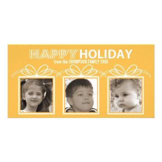 Happy Holiday Photo Card - honey