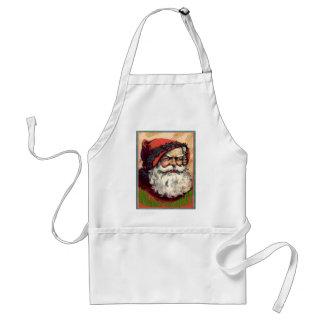 Happy Holiday Santa  Holiday Market Standard Apron