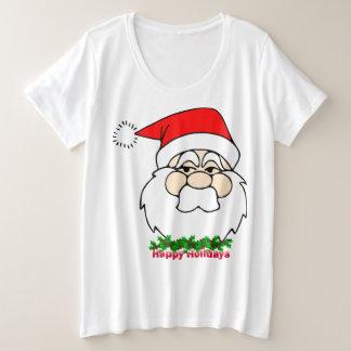 Happy Holiday Women's Plus-Size Basic T-Shirt