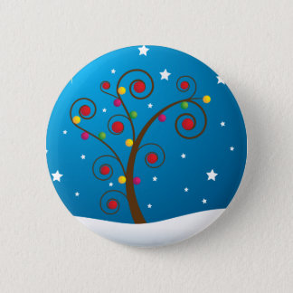 Happy Holidays 2 Inch Round Button