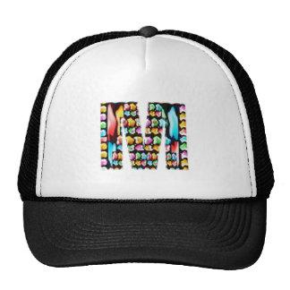 Happy Holidays - ALPHA Alphabet Decorative Mesh Hat