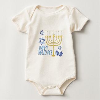 Happy Holidays Baby Bodysuit