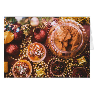 Happy Holidays Baking Card