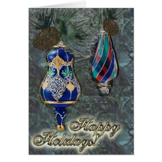Happy Holidays Bulb card