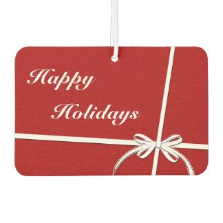 Happy Holidays Car Air Freshener