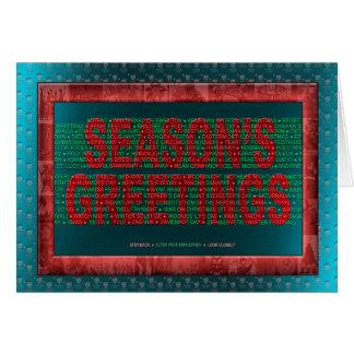 """""""Happy Holidays!"""" Card"""