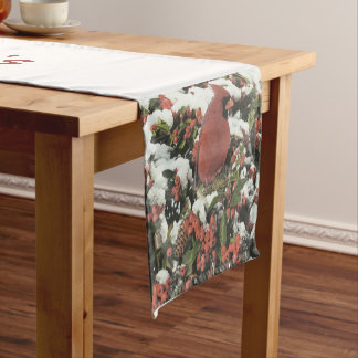 Happy Holiday's Cardinal Table Runner