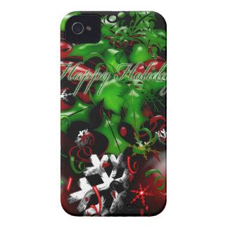 Happy Holidays Christmas Blackberry Bold Case