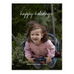 Happy Holidays Christmas Photo Holiday Wishes