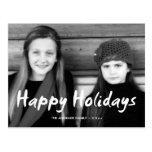 Happy Holidays Christmas Photo Holiday Wishes Fun