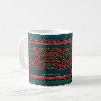 """Happy Holidays!"" Coffee Mug"