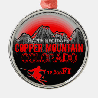 Happy Holidays Copper Mountain Colorado ornament