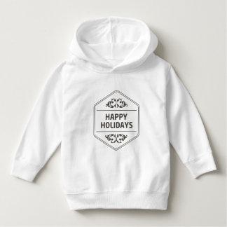 Happy Holidays Custom Background Hoodie