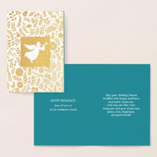 Happy Holidays Custom Corporate Cards