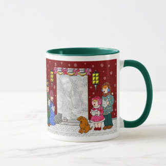 Happy Holidays Customizable Christmas Mug