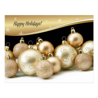 Happy Holidays.Customizable Christmas Postcards