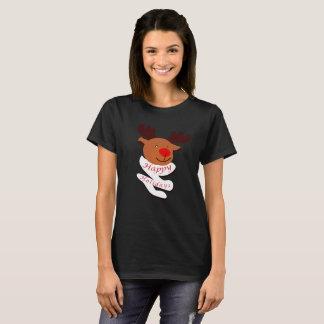Happy Holidays: Cute Deer (W) T-Shirt