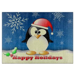 Happy Holidays Cutting Board