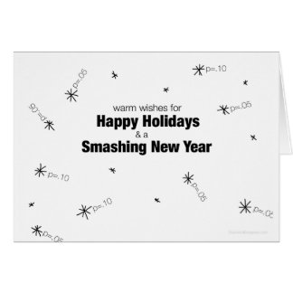 Happy Holidays Data Nerd Card