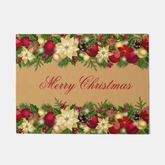 Happy Holidays Door Mat