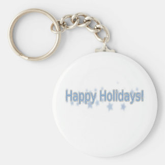 Happy Holidays everyone! Basic Round Button Keychain