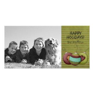 Happy Holidays Family Photo Cards