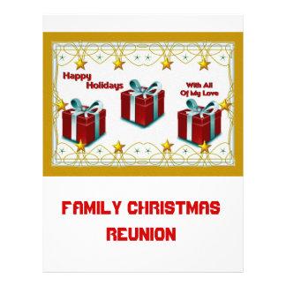 Happy Holidays Custom Flyer
