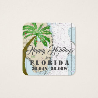 Happy Holidays from Florida Gift Tags