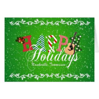 Happy Holidays from Nashville Christmas Card