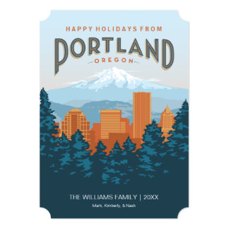 Happy Holidays from Portland Card