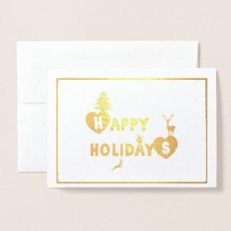 Happy Holidays Fun Christmas Card