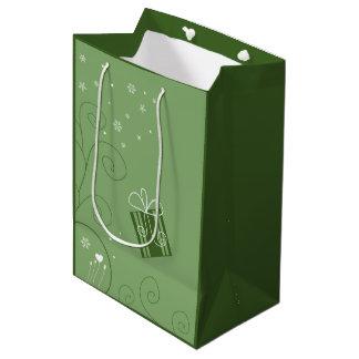 Happy Holidays Gift Bag Medium Gift Bag