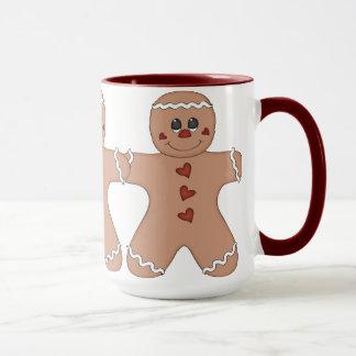 Happy Holidays Gingerbread Mug