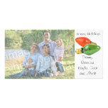 Happy Holidays Italian Lights Photo Card